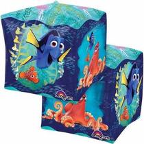 Buscando A Dory Nemo Globo Cubo Metálico15 X 15 Pulgadas