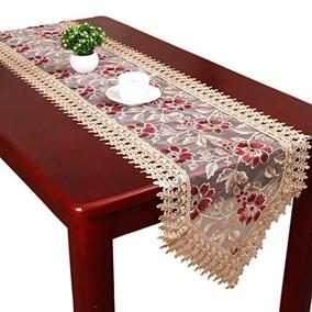 beige del cordn de borgoa caminos de mesa y bufandas k75 - Caminos De Mesa
