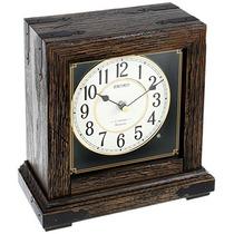 Seiko Qxw234blh Escritorio / Reloj De Mesa De Cuarzo Japoné