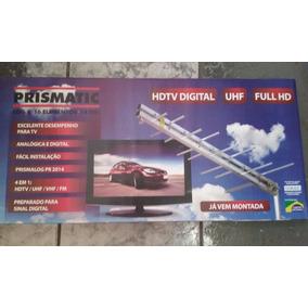 Antena Externa Prismatic + Conversor E Gravador Digital