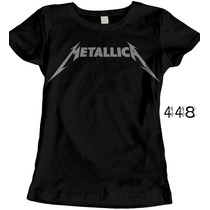 Playera Metallica Iron Maiden Ac Dc Envio Gratis