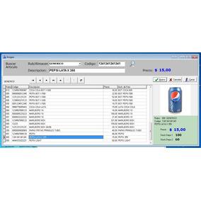 Sistema Control De Stock + Ventas + Caja - Tipo Kioscos
