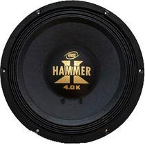 Alto Falante Woofer Eros E 12 Hammer 4.0k 2000w Rms 12pol 2o