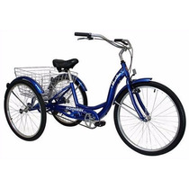 Triciclo Para Adulto Con Canasta Schwinn Meridian R26