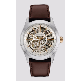 Reloj Kenneth Cole Skeleton 10030814 Automático Envío Gratis