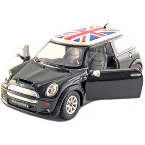 Conjunto De 4 5 \mini Cooper S Con La Bandera Británica 128