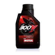 Aceite Motul 300v15w50 4t Factory Sintetico Urquiza Motos