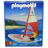 Playmobil Tabla Con Vela Y Motor Windsurf Art 1-3584