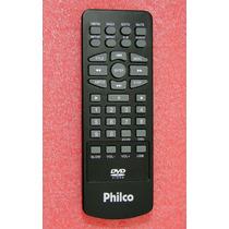 Controle Dvd Portatil Philco Adventure Iv 4 Black Original