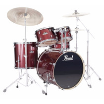Bateria Pearl Export Exx725 Sp/c Black Cherry G - Shell Pack