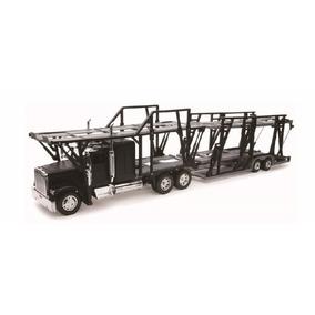 Miniatura Caminhão Cegonha Freightliner Classic Xl New Ray 1