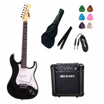 Kit Guitarra Tagima Memphis Strato Mg32pf