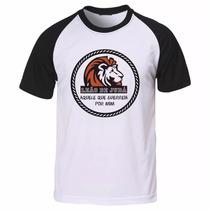 Camiseta Gospel Evangélica Cristã Leão De Judá Camisa