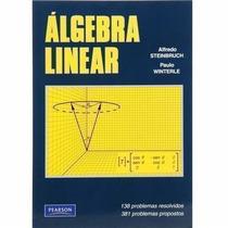 Livro Álgebra Linear - 2ª Edição Alfredo Steinbruch