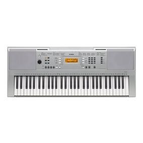 Teclado Musical 61 Teclas Sensitivas Ypt-340 Yamaha C/ Fonte