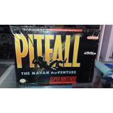 Pitfall Super Nintendo Nuevo Original Fenix Games Dx