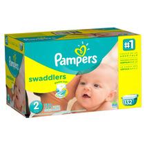 Pampers Swaddlers Etapa 2 (5-8 Kg) - 132 Piezas