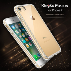 Ringke Fusion Case Funda Iphone 7 Bumper Transparente + Mica