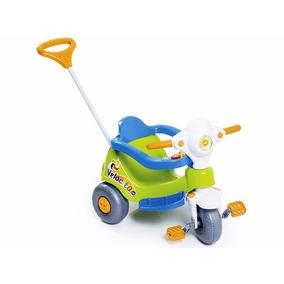 Velocita Calesita- Triciclo-motoca Para Bebe Com Empurrador