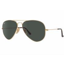 Rayban-aviador-aviator-3025-original-lente Sol-gafas-anteojo