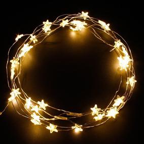 Luces Para Arbol De Navidad A Pilas Decoracin para el Hogar en