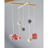 Baby Movil Bebes Elefantes |lana| Baby Boutique - Tejidos