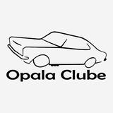 Adesivo Clube Do Opala Opaleiros 22cm Diversas Cores A181