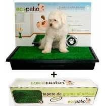 Sanitario Canino P/ Cães Grama Ecopatio Pet Park + Refil