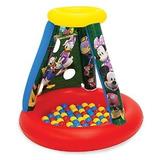 Disney Mickey Y Sus Amigos Playland Con 15 Bolas Playhouse