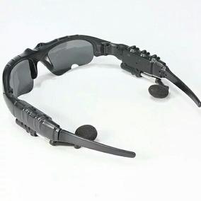 Oculos De Sol Bluetooth Com Mp3 Player E Fone De Ouvido