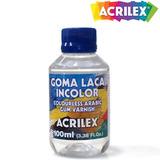 Goma Laca Incolor 100ml 17110 - Acrilex