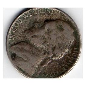 Estados Unidos Five Cents 1953 (5 Centavos)