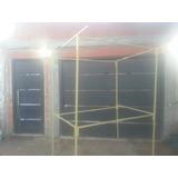 Puesto De Feria Stand 2x1.5x1 16,5 Kg Facil De Transportar