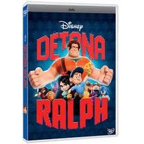 Dvd Detona Ralph Original Disney Novo Lacrado