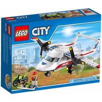 Lego City 60116 Avion Medico Rescate Emergencia Mundo Manias