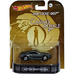 Hot Wheels Retro Aston Martin Dbs James Bond 007