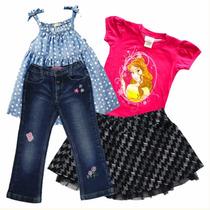 Niñas Talla 6 Y 7 Pantalones Blusas Sweters Faldas Vestidos