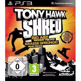 Jogo Ps3 Ps3 Tony Hawk Shred ( Precisa Da Prancha )