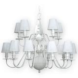 Araña Holandesa 3 Pisos 15 Luces Led E14 Incluidas Buena Luz