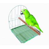 Poleiro Para Aves, Passarinhos, Pássaros E Papagaio Simples