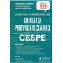 Direito Previdenciário Questões Comentadas Cespe 2016+brinde