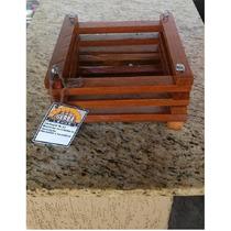 Cachepot Madeira Porta Vasos Para Orquideas Nr 02 Em Cedro