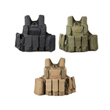 Chaleco Tactico Militar Molle Para Airsoft Paintball