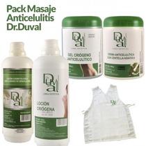 Pack Masaje Anticelulítico Dr. Duval Crema Locion + Regalo