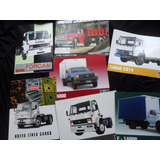 Lote Folleto Camion Ford Cargo 1722 F4000 No Manual 1999