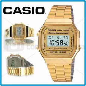 30164d19fbd Casio A168wg 9wdf Prata - Relógio Feminino no Mercado Livre Brasil