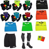 Equipo Referee Regla Casaca+short+media+tarjeta Todoarbitros
