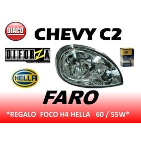 Faro Chevy C2 2004 / 2008 Regalo Foco H4