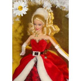 Barbie Collector Happy Holiday 2007 Rara No Brasil