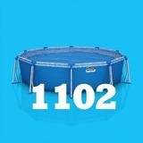Pileta Pelopincho De Lona - Modelo 1102 - 3.05x0.75 Redonda
